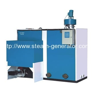 Biomass briquette hot water boilers