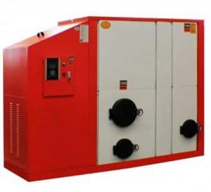 Cyclone Combustion Biomass Pellet Hot Water Boilers