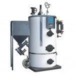 Vertical Biomass Pellet Steam Boilers