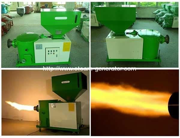 wood-pellet-fired-burner