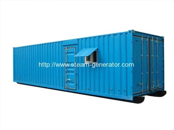 Container-steam-boilers