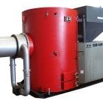 Wood Pellet Fired Burner-Water Cooling Type