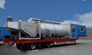 Once-through Steam Injected Steam Boilers for Oil Field