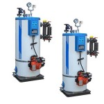 Vertical Fire Tube Oil/Gas Fired Steam Boilers