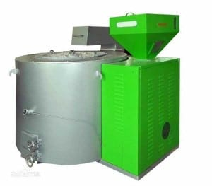 Energy Saving Biomass Pellet Fired Aluminium Melting Furnace