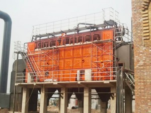Waste Heat Recovery Boilers for Three Cast Off Burning and Blown Gas