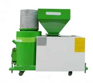 Biomass Pellet Burner for Spray and Dry Application