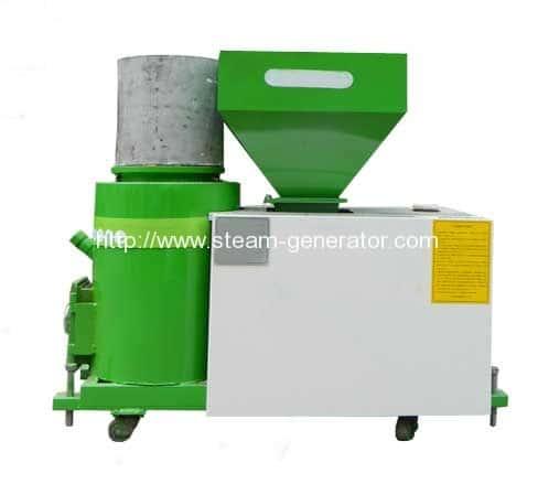 Biomass Pellet Burner for Spray and Dry Application