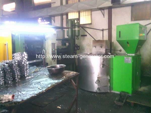 Biomass-Wood-Pellet-Aluminium-Melting-Furance