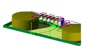 Molten Salt Thermal Energy Storage Device