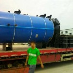 Vertical Wood Pellet Hot Water Boilers