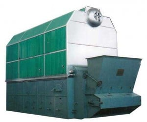 SZL Double Drum Chain Grate Coal Fired Boilers