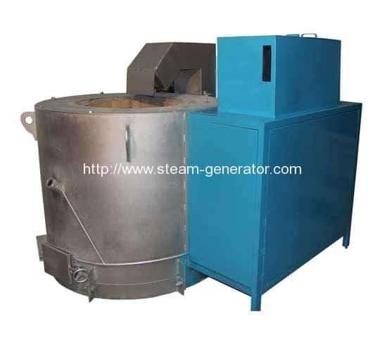 biomass-aluminium-melting-furnace
