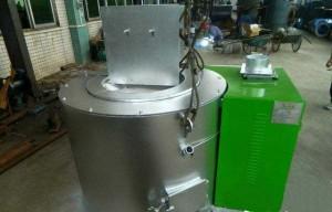 Biomass Pellet Fired 300Kg/H Aluminium Melting Furnace