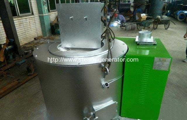 wood-pellet-aluminium-melting-furnace