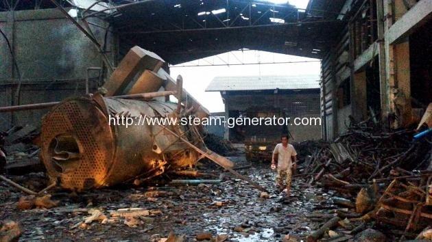 Wood Gas Generator >> 22 hurt after boiler erupts | Reliable Steam Boiler