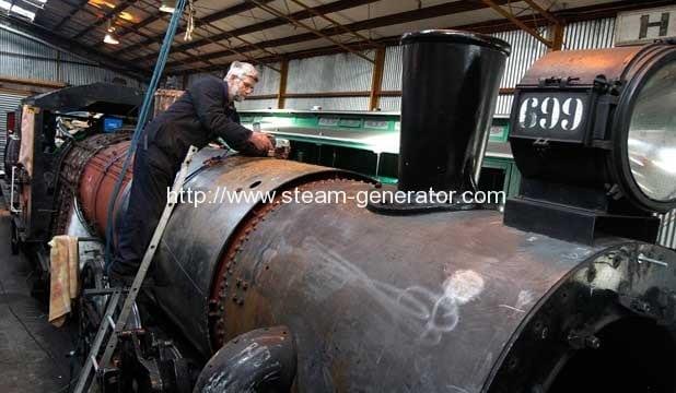 Train repair project picks up steam