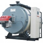 PLC Control Gas Fuel Fired Hot Water Boilers