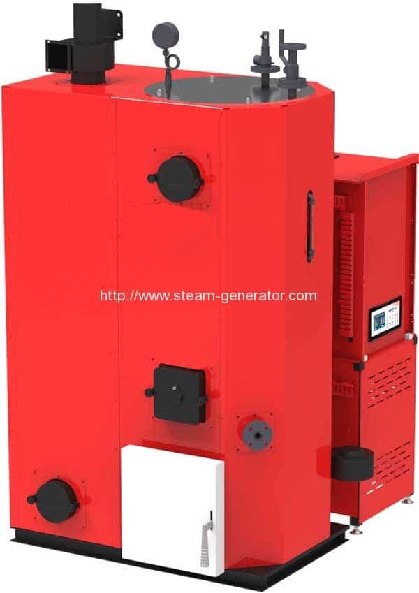 Wood-Pellet-Steam-Generator