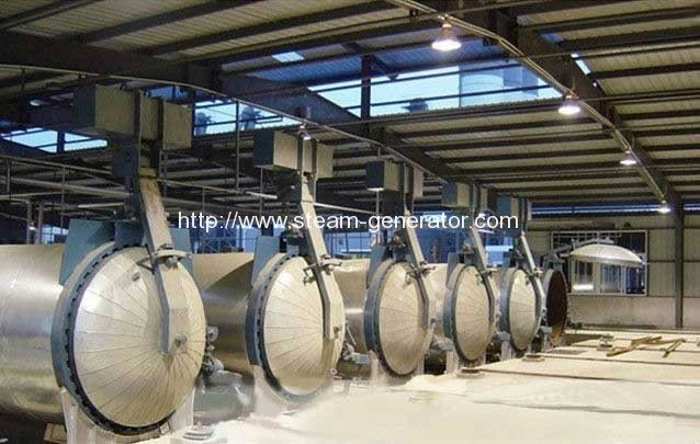 Safety Devices Introduction of Light Brick Steam Autoclave