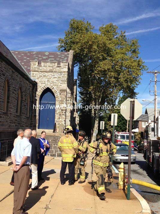 Smoke forces evacuation of Wilmington church