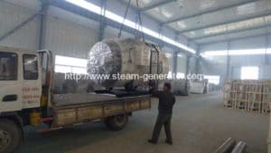 0.5T Diesel Oil Fired Steam Boiler Delivery for Lebanon Customer