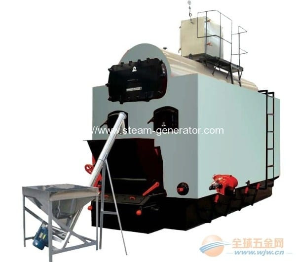 High efficiency energy saving green biomass hot water boiler
