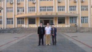 Biomass Rice Husk Boiler Customer From Russia