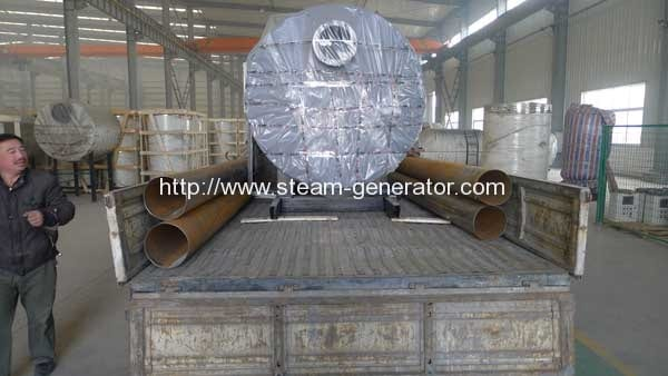 Fire-Tube-0.5t-Oil-Fired-Steam-Boiler-Delivery