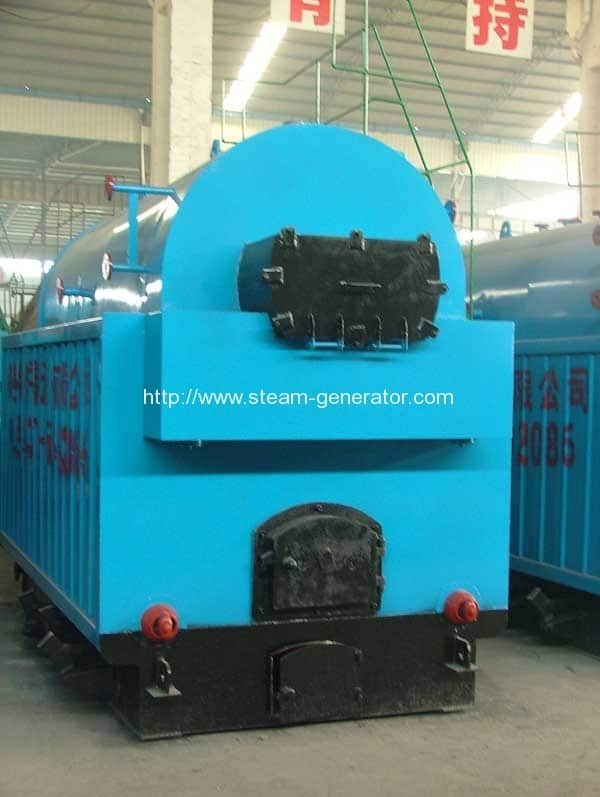 DZH-moving-grate-coal-fired-hot-water-boiler