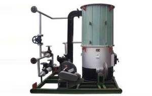 Skid Mounted Thermal Oil Heaters for Road Building
