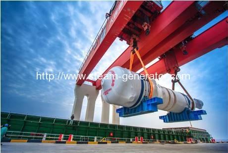 Steam generator heads for Sanmen