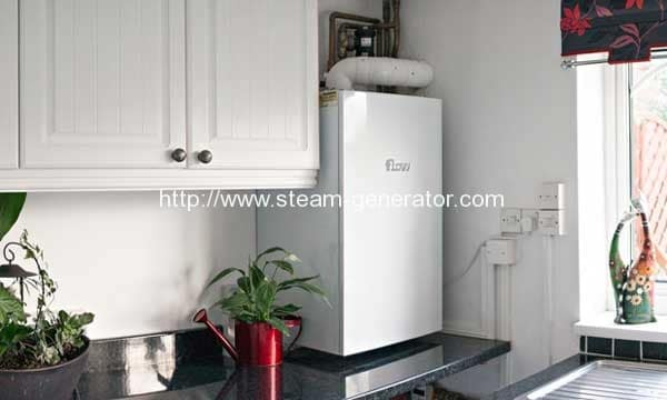 The new boiler that generates electricity for the National Grid