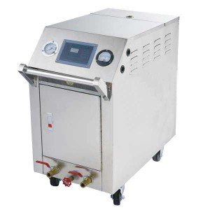 High Pressure Stainless Steel Steam Car Washing Machine with Double Seam Gun